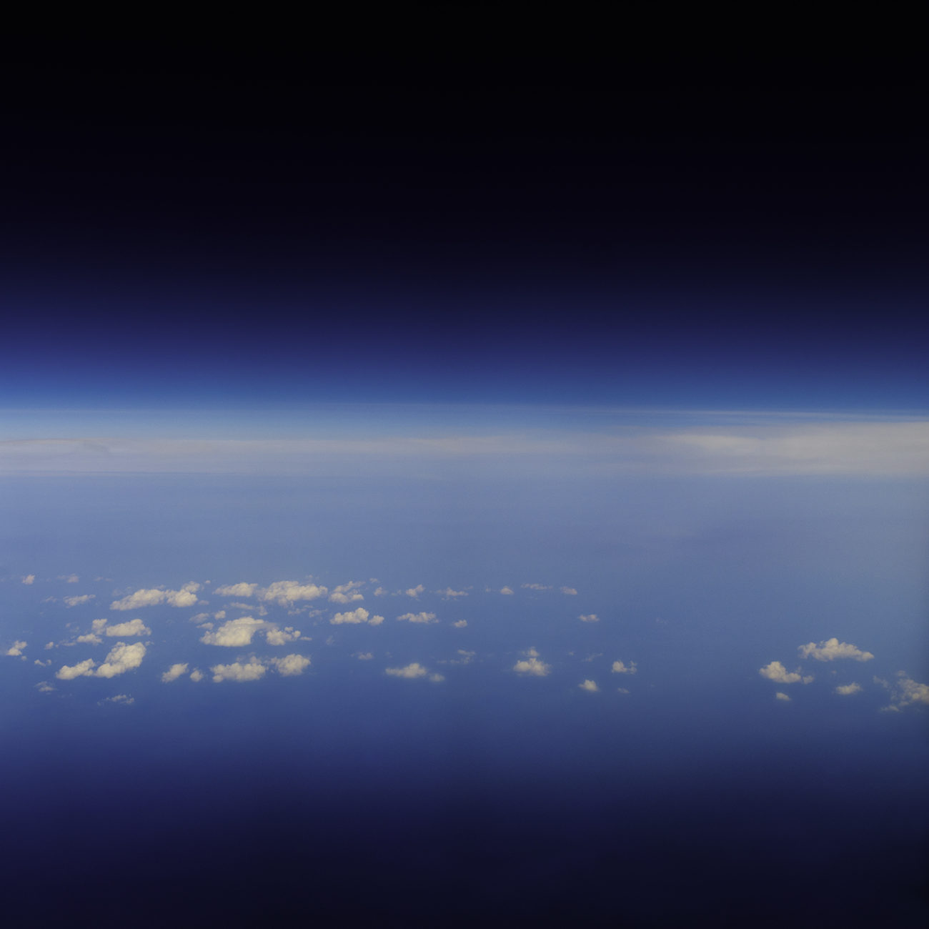 Clouds above the Atlantic, 2011