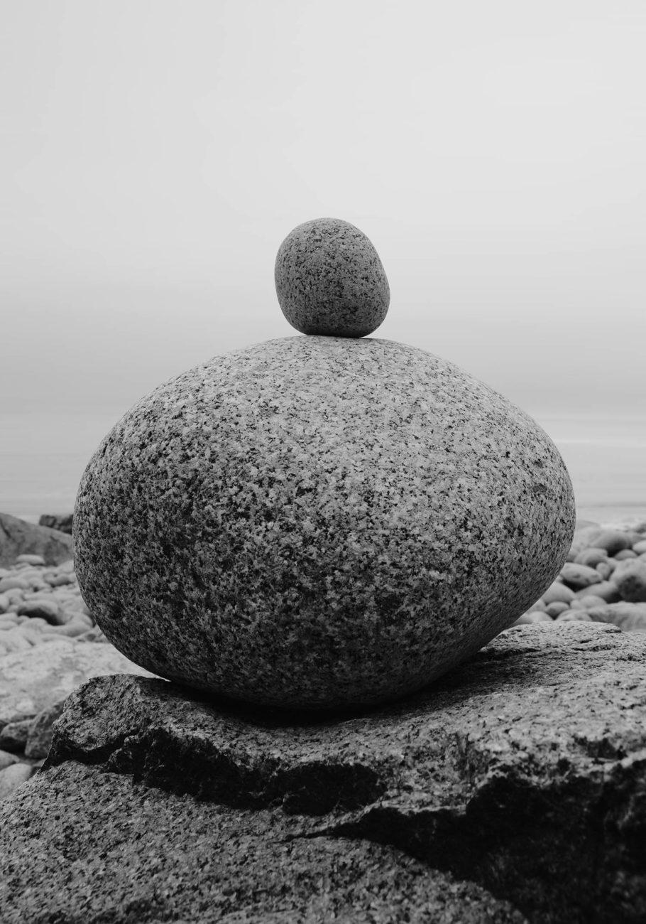 Balanced rocks, Acadia NP, Maine