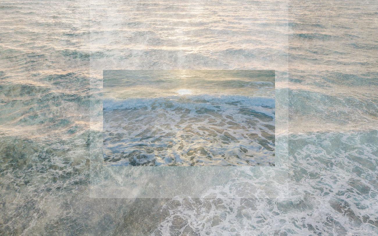Calm ocean in morning light